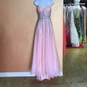 Madison James Plus Sized Prom Dress